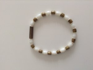 Bangle white synthetic material