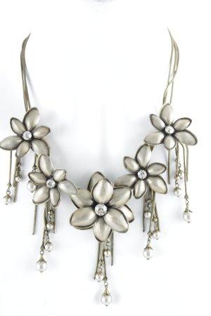 Konplott Halskette bronzefarben Blumenmuster Elegant