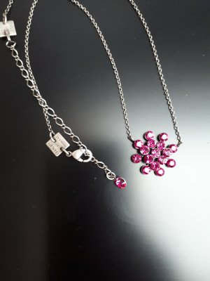 Konplott Necklace silver-colored-magenta