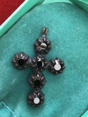 Konplott Pendentif noir-brun foncé métal