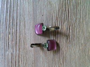 Konplott Ohrhänger pink grün
