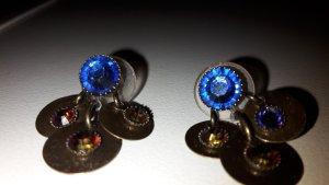 Konplott Ohrringe blau rot