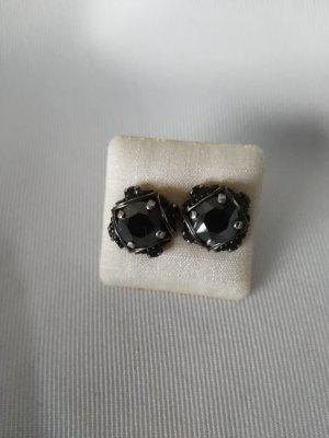 Konplott Ear stud black-silver-colored