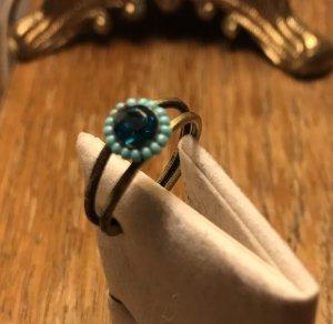 Konplott Ring türkis- blau