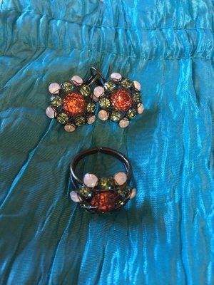 Konplott Pendant d'oreille multicolore