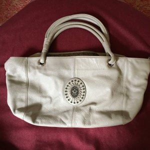 Konplott Carry Bag silver-colored leather