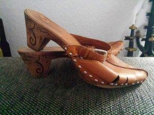 Konstantin Starke Clogs Mules Pantoletten Ibiza Schuhe Holzschuhe gr 41