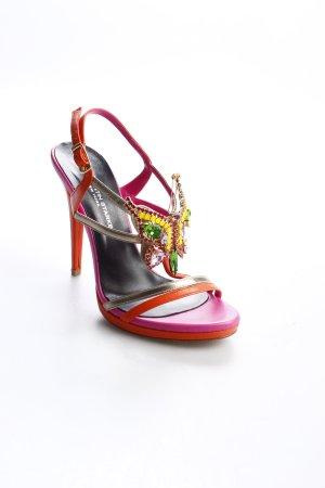 Konstantin Starke High Heel Sandaletten Colourblocking