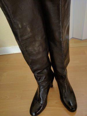 Konstantin Starke Platform Boots black leather