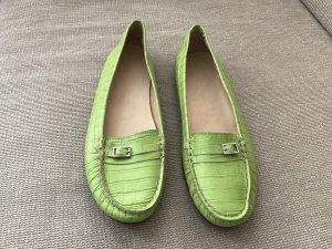 Konstantin Starke Schuhe Ballerinas Flats Slipper grün 41 neu