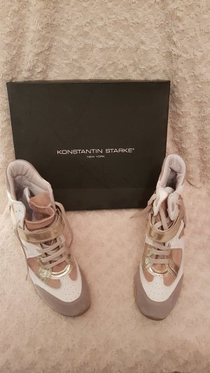 Konstantin Starke Wedge Sneaker gold-colored-oatmeal