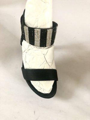 KONSTANTIN STARKE SWAROWSKI  Sandalen Heels  36 schwarz Silvester