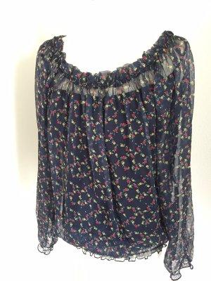 Kontatto Carmen blouse donkerblauw