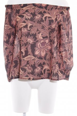 Kontatto Carmen-Bluse florales Muster Casual-Look