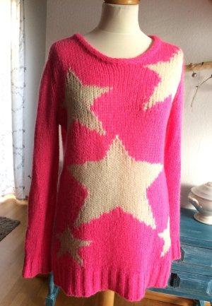 Kontatto Pullover pink Größe M