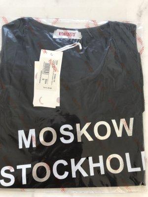 Kontatto T-Shirt Gr. S schwarz Neu Städtenamen