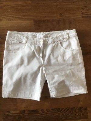 Kontatto Shorts white cotton