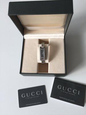 KONTO WIRD AUFGELÖST: Armbanduhr; original GUCCI Uhr neue Batterie LETZTER PREIS