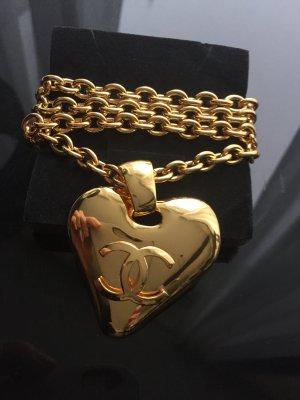 KONTO WIRD AUFGELÖST Kette Chanel 24 Karat Gold selten LETZTER PREIS
