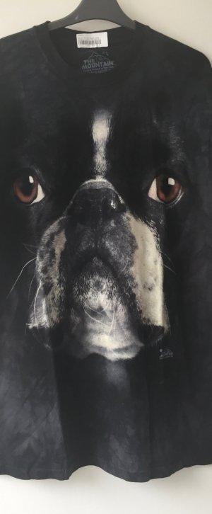 """KONTO WIRD AUFGELÖST T-Shirt Boston Terrier Gr. L """"THE MOUNTAIN"""" LETZTER PREIS"""