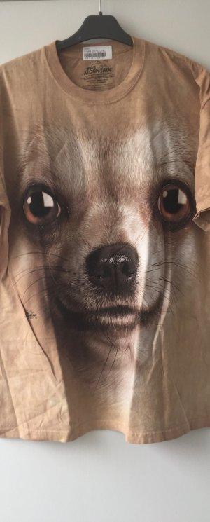 KONTO WIRD AUFGELÖST T-Shirt Chihuahua NEU Gr. L THE MOUNTAIN Letzter Preis