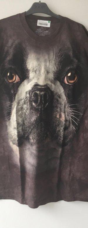 "KONTO WIRD AUFGELÖST T-Shirt Franz Bulldogge NEU Gr. L ""THE MOUNTAIN"" LAST PRICE"