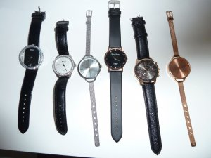 Watch multicolored