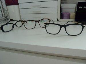 Glasses black-sand brown