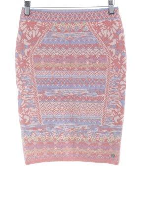 KOOI Knitwear Jupe tricotée motif abstrait style Boho