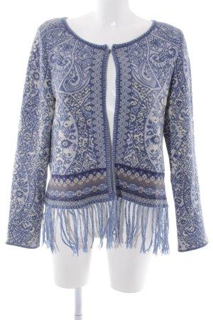KOOI Knitwear Giacca di lana motivo animale stile casual