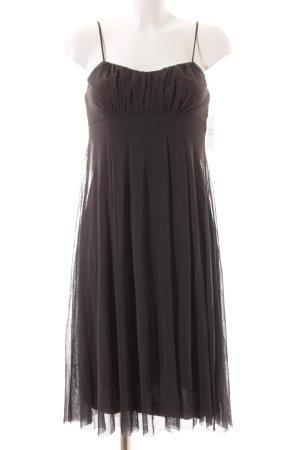 Kookai Babydoll-jurk grijs-bruin casual uitstraling
