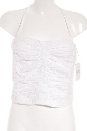 Kookai Top a fascia bianco stile spiaggia