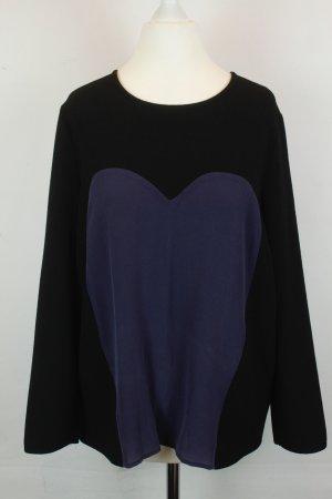Kookai Slip-over blouse zwart-blauw