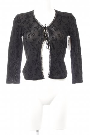 Kookai Blouse Jacket black romantic style