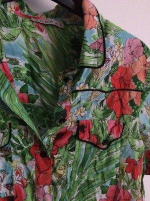 Kookai Blusentop mit Tropical Print