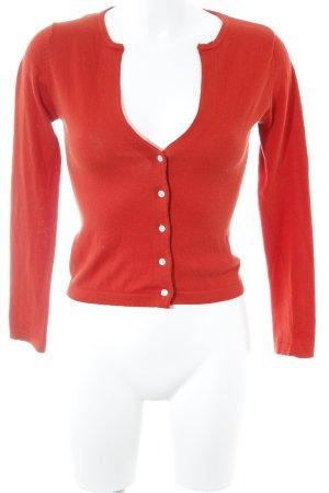 Kookai Cardigan rot klassischer Stil