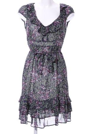 Kookai Chiffon jurk volledige print casual uitstraling