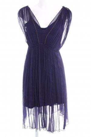 Kookai Chiffonkleid dunkelviolett Party-Look