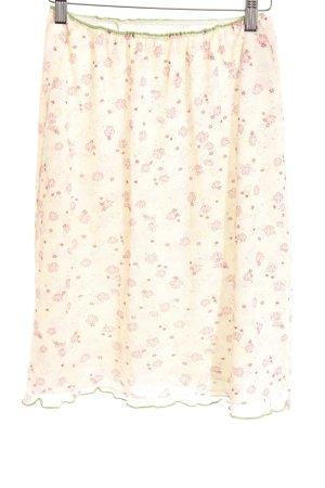 Kookai Crashrock Blumenmuster Zierbesatz