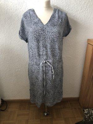 Kookai edles Sommerkleid aus Seide blau geblümt Gr 36 top