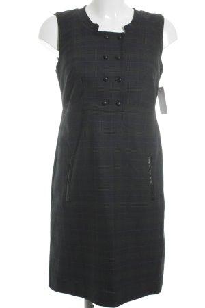 Kookai Etuikleid dunkelblau-waldgrün Karomuster klassischer Stil