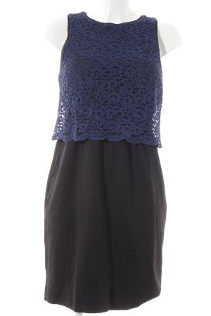 Kookai Etuikleid schwarz-blau Casual-Look