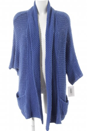 Kookai Grobstrickjacke blau Casual-Look