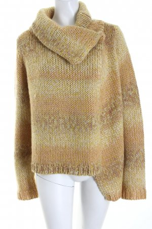 Kookai Coarse Knitted Jacket color gradient glittery