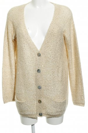 Kookai Coarse Knitted Jacket pale yellow casual look