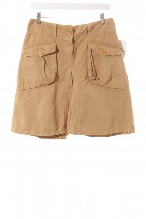 Kookai High Waist Rock beige Safari-Look