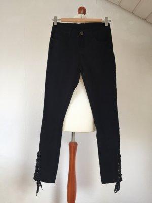 KOOKAI Hose Jeans 34 XS schwarz Details