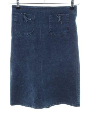 Kookai Gonna di jeans blu stile casual