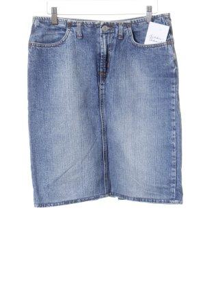 Kookai Jeansrock blau Street-Fashion-Look