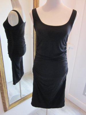 Kookai klassisches schwarzes Kleid Gr S